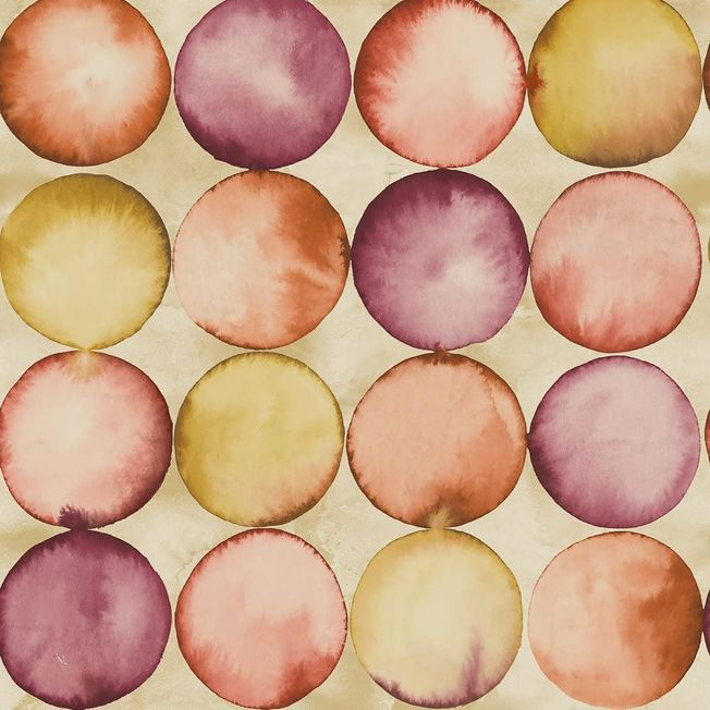 #Pear Tree Bubbles # Circles Metallic #Peach UK20601 #waasils