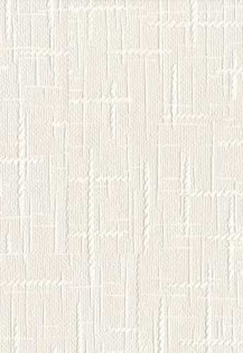 Super Fresco Paintable #15009 Heavy Duty White Wallpaper